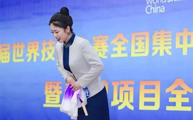 加油!上海商学院陈值同学8月出征第45届世界技能大赛!