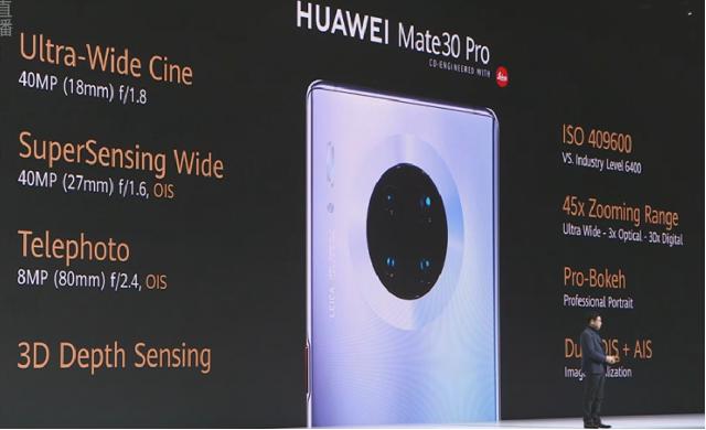 华为Mate30首发,5G信号、镜头、电池均超越三星苹果旗舰,德国老外鼓掌拍照不停歇!