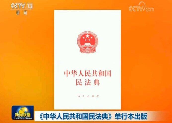 《中华人民共和国民法典》单行本出版