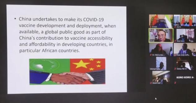 非洲多国政党政要高度评价中国为全球抗疫提供支持和帮助