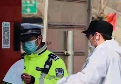 """河北公安民警:他们把""""家""""安在了抗疫一线"""
