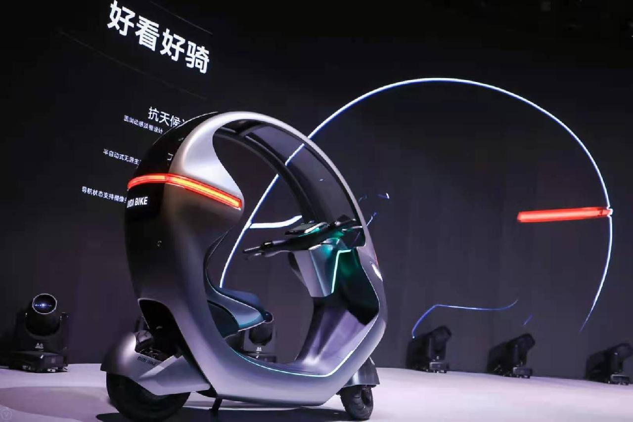 人车智能交互、可自行充电…这家共享单车在沪发布概念车,搭载行车安全辅助系统